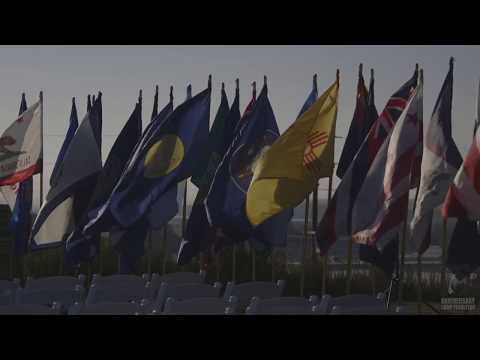 Camp Pendleton 75th Anniversary Evening Colors