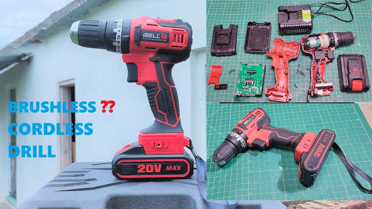 UNBOXING & TESTING iBELL BM18-60 20V Brushless Impact Driver Drill