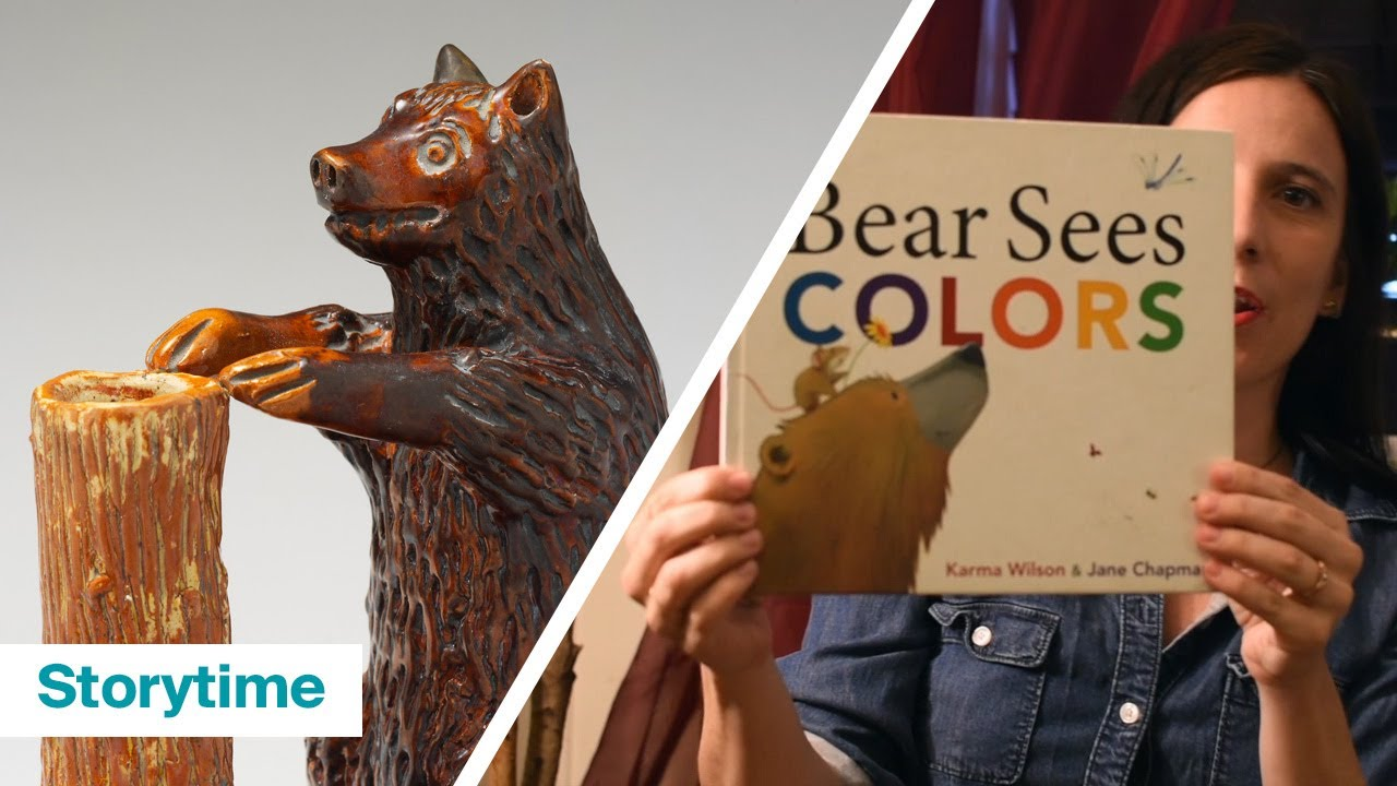"""Storytime with The Met: """"Bear Sees Colors"""" by Karma Wilson and Jane Chapman"""