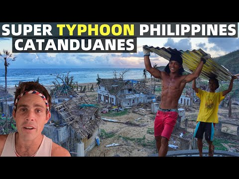 PHILIPPINES TYPHOON DEVASTATION – Arriving In Catanduanes – FILIPINO ISLAND COMMUNITY