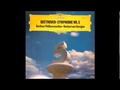 Beethoven Symphony No. 5 - Karajan (1962, 1977, 1985) 1st mov.