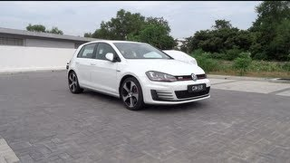 2013 Volkswagen Golf (MK7) GTI Start-Up and Full Vehicle Tour