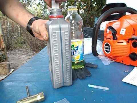 калики как смешать масло для бензопилы видео услуг