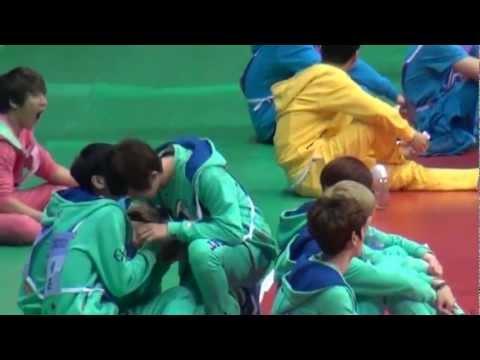 130128  EXO FUNNY @ MBC idol star olympic sports 2013