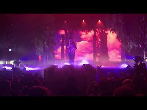 Kid Cudi performing Cudi Zone