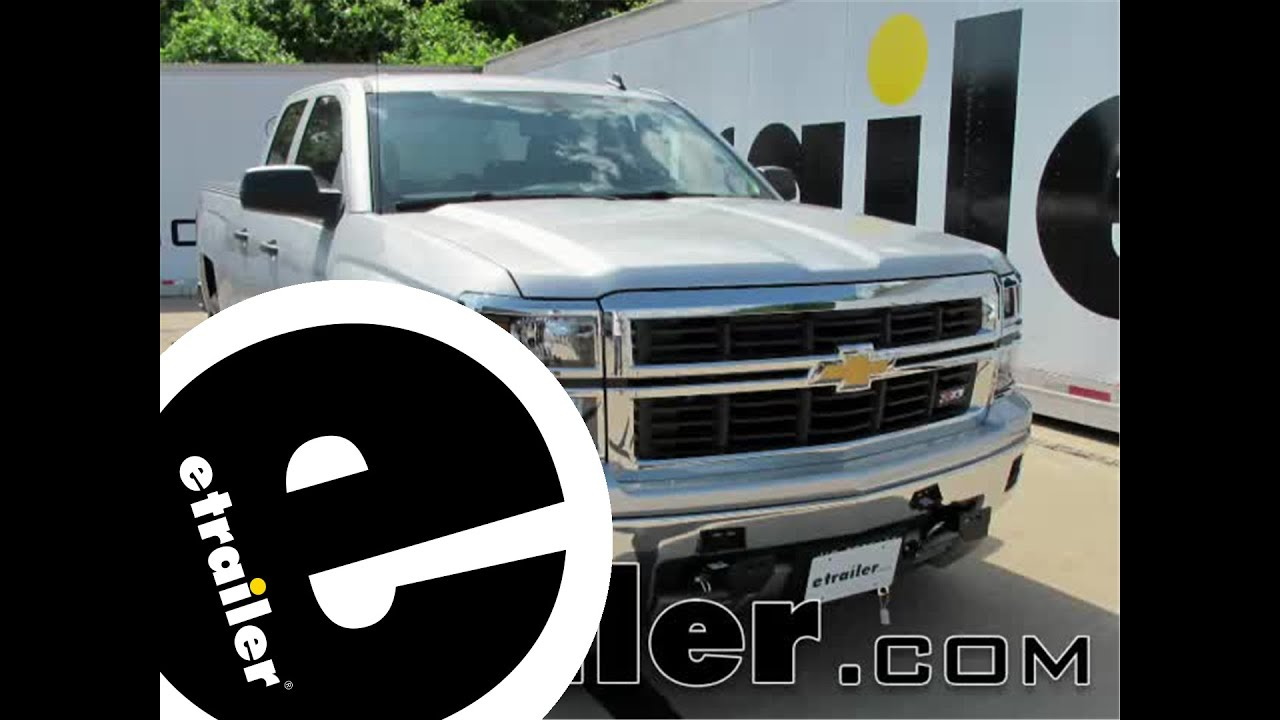 install trailer wiring 2014 chevrolet silverado 1500. Black Bedroom Furniture Sets. Home Design Ideas
