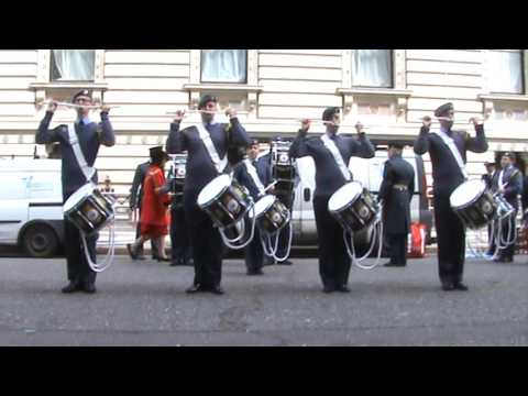 ACO NMB Corps Of Drums St georges day 2016
