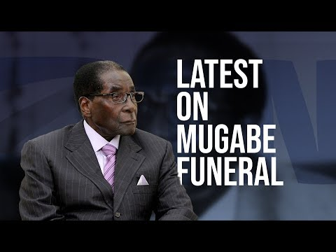 Latest on Mugabe Funeral
