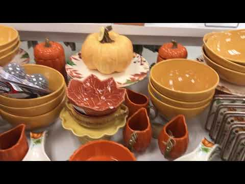 Marshalls Halloween Fall Decor Shop With Me 2019