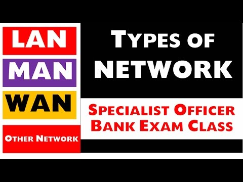 Types of Network Part - 4 (LAN / WAN / MAN) Specialist Officer and Bank exam Class