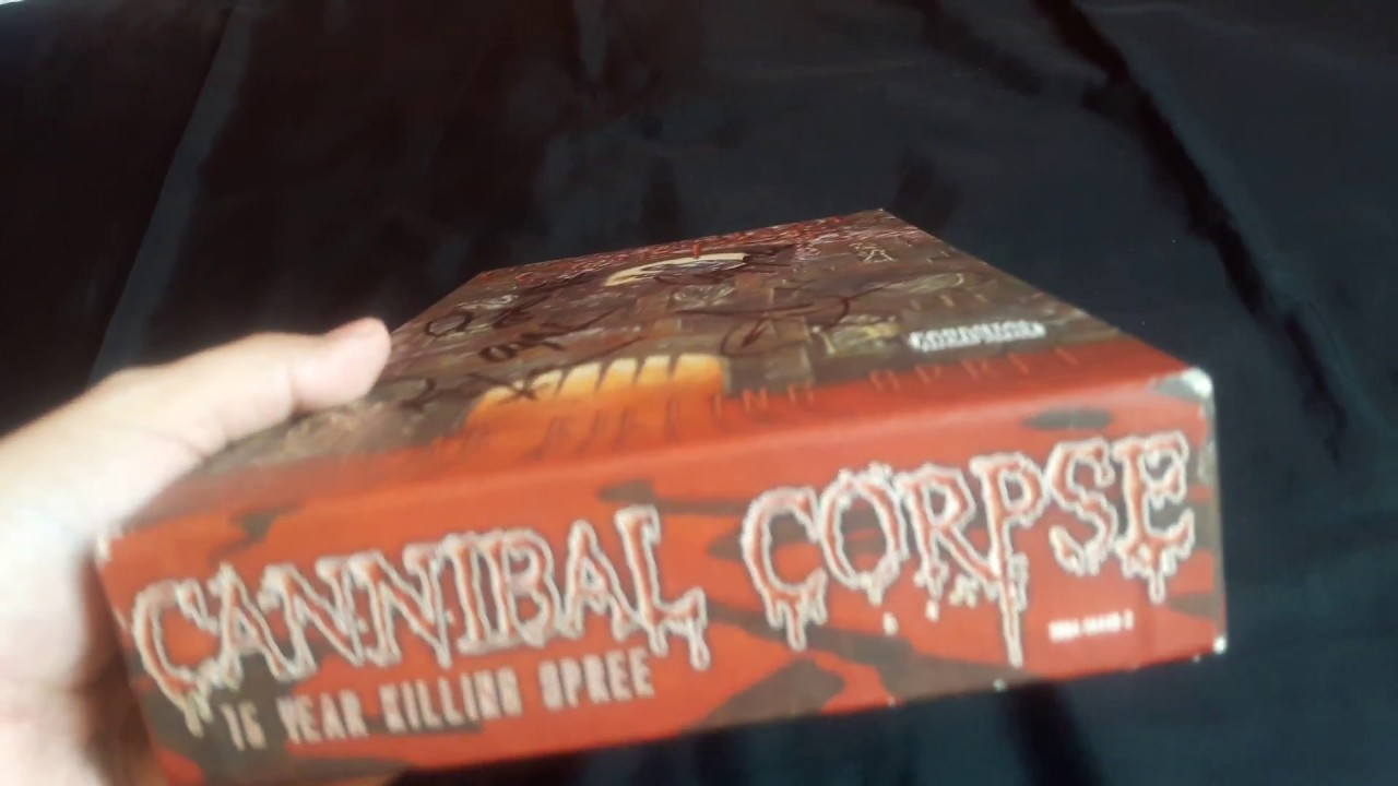 1d4becc23f6 Cannibal Corpse - 15 Year Killing Spree (Box Set) Unboxing - YouTube