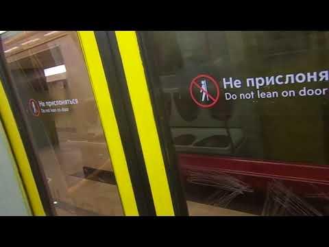 "Moscow Metro Line 10: 2004 Metrowagonmash 81-720.1/721.1 ""Yauza"" train"