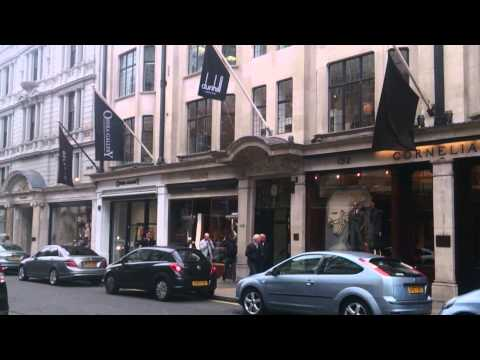 Bond Street Shops in London