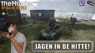 "{NL} ""JAGEN IN DE HITTE!"" The Hunter Call of The Wild Met Jacko en de Crew! YT/Twitch"