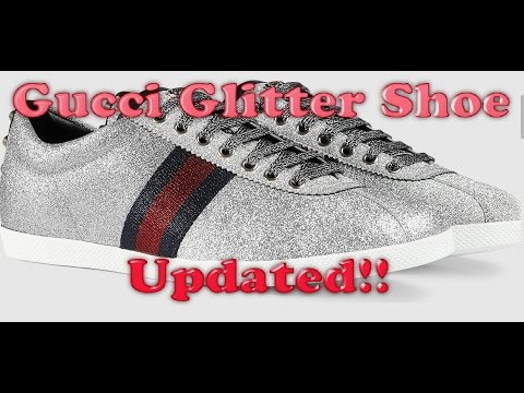Gucci Glitter Shoe Review **UPDATE** 1080p