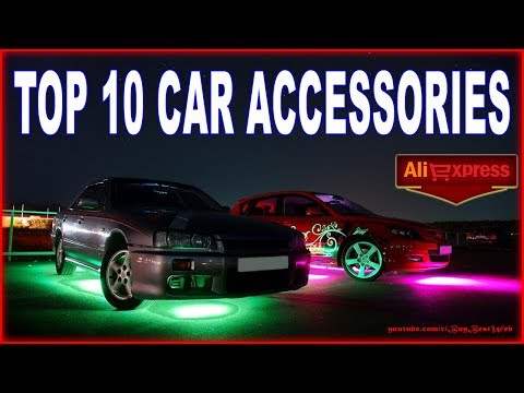 TOP 10 CAR ACCESSORIES with Aliexpress.