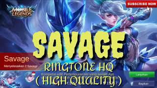 Nada Dering Mobile Legends Savage