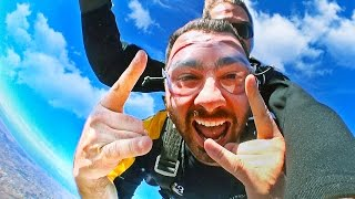 My EPIC Skydiving Engagement!! - HikeTheGamer In Real Life - HIKE I.R.L.