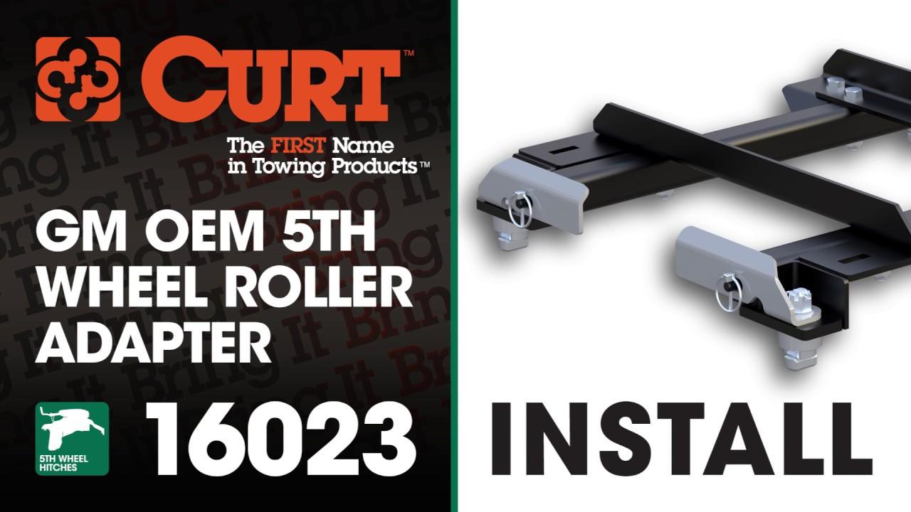 5th Wheel Hitch Install Curt 16023 Gm Puck System 5th