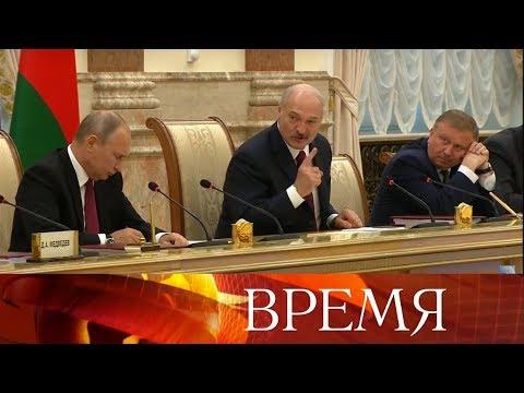Россия и Белоруссия определили внешнюю политику Союзного государства на два года.