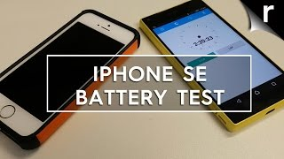 Apple iPhone SE battery and fast-charging test