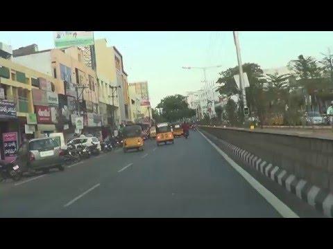 Khammam City-Wyra Road towards Bus Stand-Telanagana-India