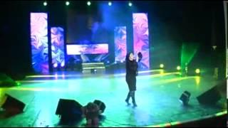 Патимат Кагирова на концерте в Чечне