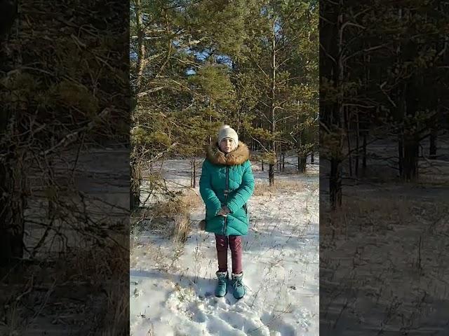 Изображение предпросмотра прочтения – МаринаКалгина читает произведение «Весна (Зима не даром злится…)» Ф.И.Тютчева