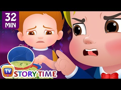 Cussly's Birthday Party + Many More ChuChu TV Good Habits Bedtime Stories For Kids