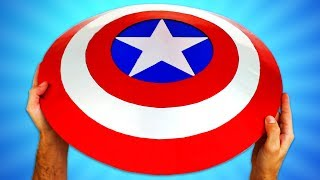 CAPTAIN AMERICA'S SHIELD - How To | Creative Minds