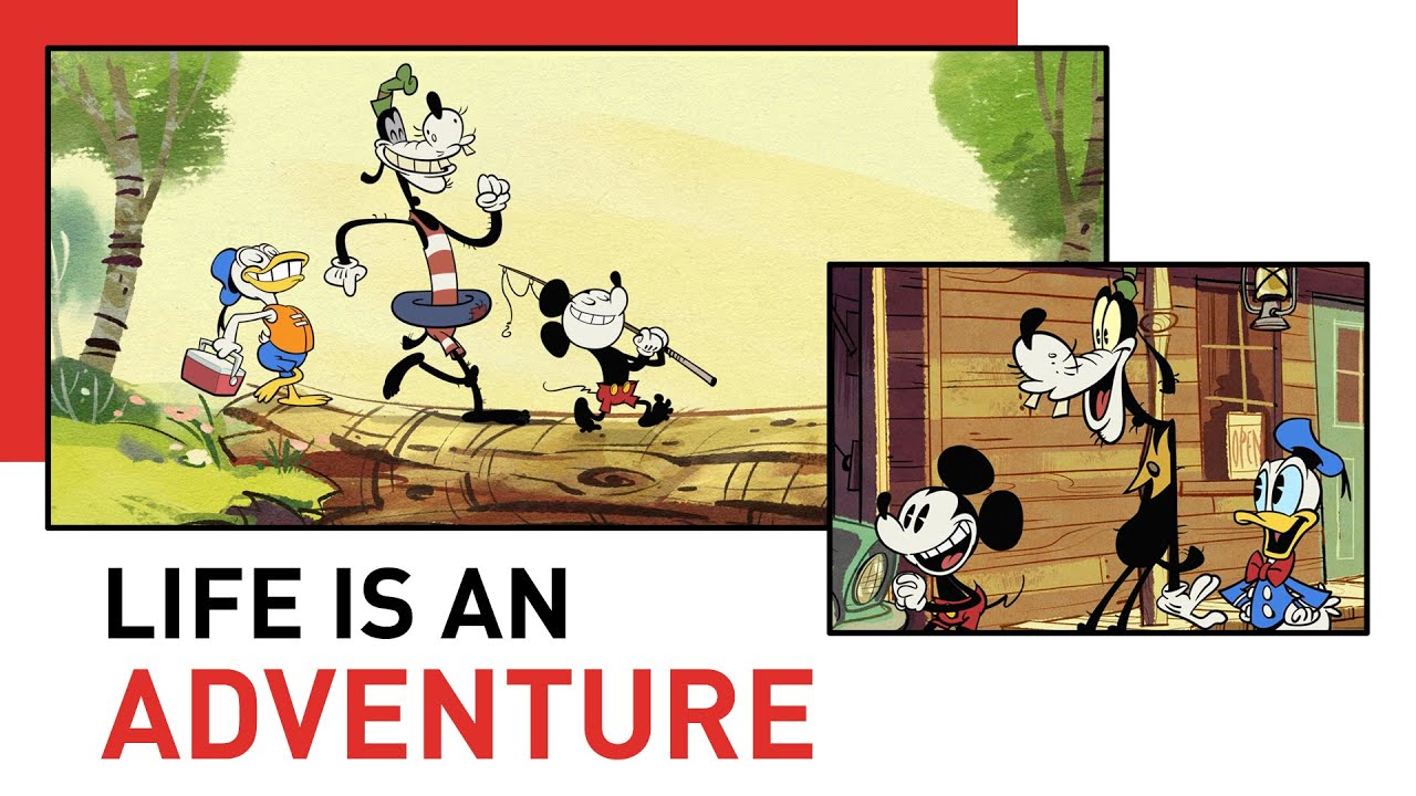 Adventure WIth Mickey and Friends | Style of Friendship | Disney Shorts