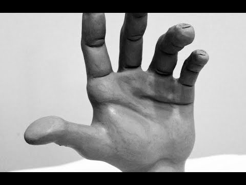Fast Motion Sculpture: The Human Hand