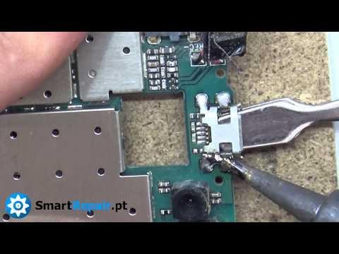 Como reparar micro usb de Archos 40 Titanium (Passo a Passo).