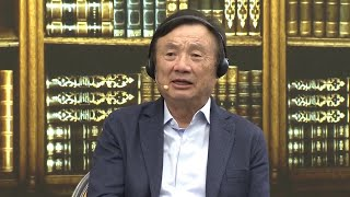 'Society did not develop on rules of jungle': Huawei CEO Ren Zhengfei