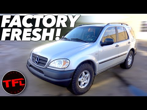 This One Change Makes Our 20-Year-Old Mercedes-Benz ML Look And Feel Brand New!