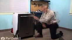 Dishwasher Repair - Replacing the Silverware Basket - Gray (Whirlpool Part # W10190415)