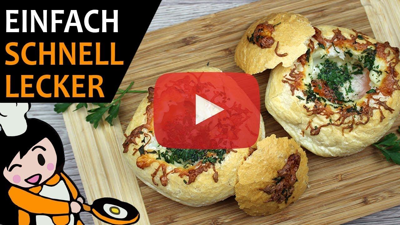 Gefüllte Brötchen - Rezept Videos - YouTube
