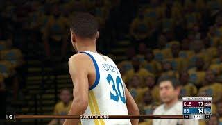 NBA 2K17 PS4 Playoffs Finals Game 2  Cleveland Cavaliers vs Golden State Warriors
