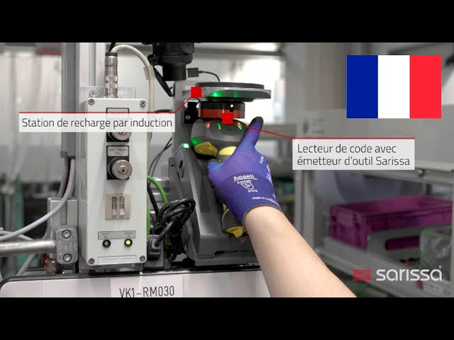 Sarissa PositionBox en utilisation chez BMW-Group, manufacture de moteurs à Munich