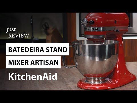 Batedeira Stand Mixer Artisan KitchenAid   Fast Review   Fast Shop