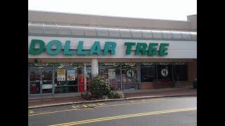 Dólar Tree loja EUA tudo por $1,00 dólar!