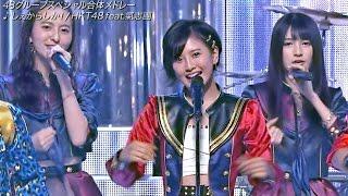 "2015.11.25 ON AIR (LIVE) / Full HD (1920x1080p), 60fps HKT48 6th single ""Shekarashika!""(25.11.2015 Released) 【出演】 HKT48/氣志團 <HKT48 6th ..."