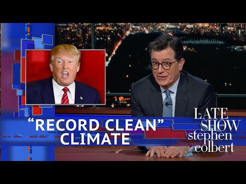 Trump Describes Earths Climate As Record Clean