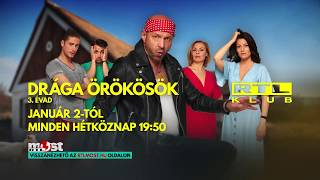 Drága örökösök 3. évad | RTL Klub