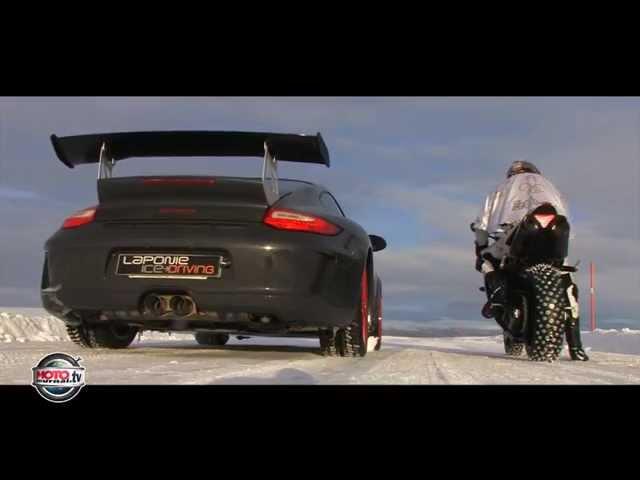 Vozio 258 km/h po snegu sa YAMAHA YZF 1000 R1! Like Fan Page