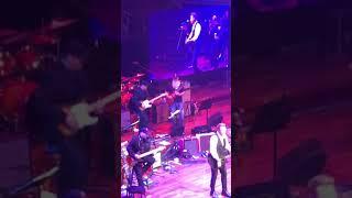 Tim Rushlow performing with Rick Brown on slide guitar at James Burton & Friends Nashville 10-12-19