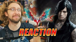 MAX REACTS: V Trailer - Devil May Cry 5