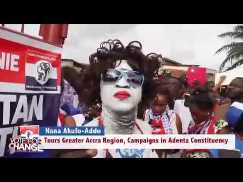 Nana Akufo Addo tours Greater Accra Region   Adenta Constituency