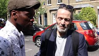 London fire; the man who knows where it went wrong.( NB; fire happened on Wednesday)