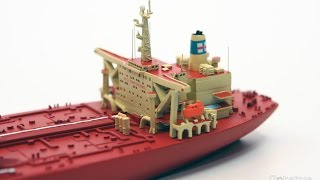 Optatus Berlin - production of the JAHRE VIKING 1250 scale model ship